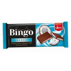 Шоколадово блокче Бинго 90 гр. Кокос