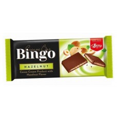Шоколадово блокче Бинго 90 гр. Лешник