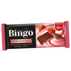 Шоколадово блокче Бинго 90 гр. Ягода