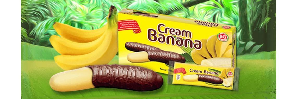 cream banana